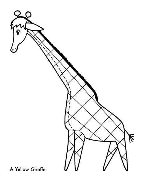 christmas giraffe coloring pages giraffe coloring pages for kids coloring home