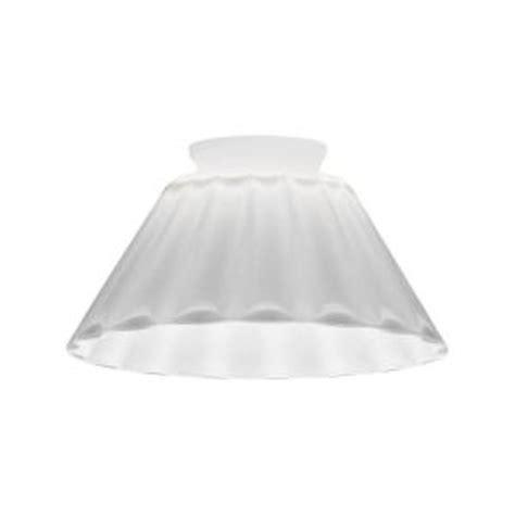 lumineo led glass pinecone lithonia lighting white melon cone glass shade for led mini pendant dcne 1002 m6 the home depot