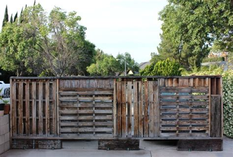 stain wood pallets wooden pallet wall revivial