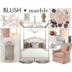 Black And Silver Chandelier Marble And Blush Bedroom Polyvore