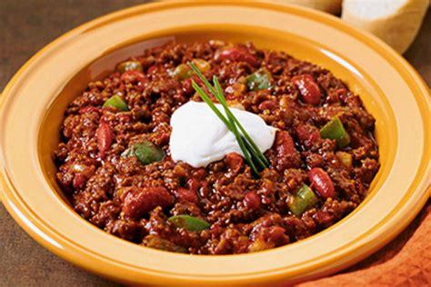 best chili con carne recipe classic chili con carne recipe kraft canada