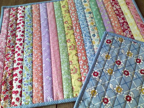 Easy Patchwork Quilt Pattern by Patchwork Quilt Sew Quilt In 0ne Placemats