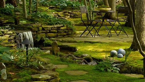 Moss Garden Ideas Moss As Decoration In Gardens Outdoortheme