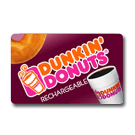 Dd Gift Card - dunkin donuts card