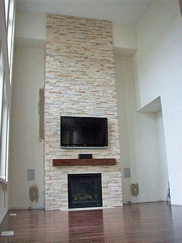 Quartz Ledgestone Fireplace by Indoor Installation Of Ledgestone Ceramic Tile Advice