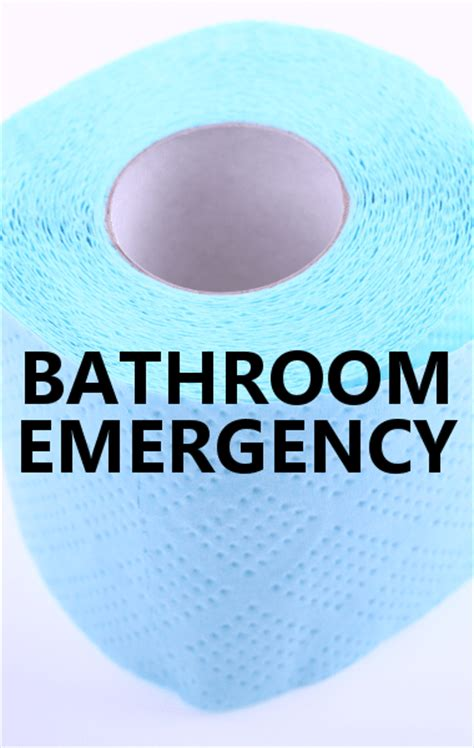 Bathroom Emergency by Dr Oz Using The Stall When There S No Toilet Paper
