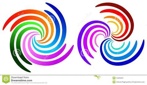 swirl logo pattern swirl logos royalty free stock photography image 19405537