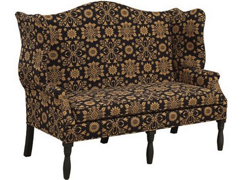 primitive sofa country primitive northhton chairs sofas lancaster oh