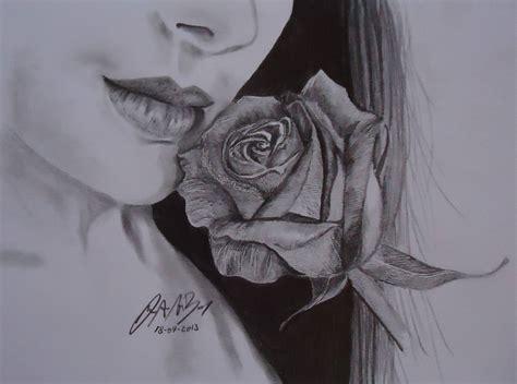 imagenes de rosas en 3d a lapiz dibujos de rosas lapiz imagui