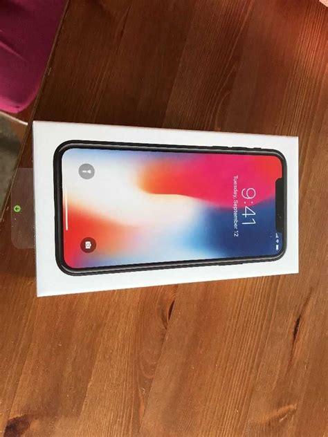 Apple Iphone X 64gb Space Grau Ohne Simlock