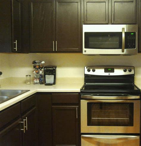 Kitchens With Dark Brown Cabinets by Cabinet Transformations 174 Dark Kit Product Page