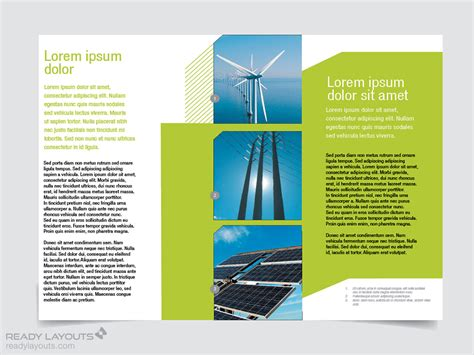 best brochure template engineering brochure templates free best