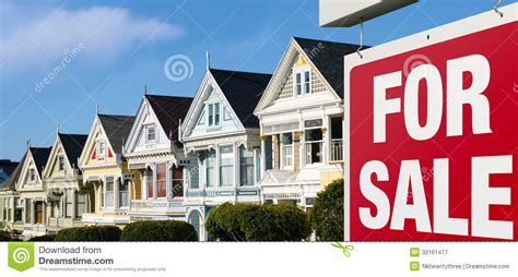 houses for sale in san francisco row houses for sale in san francisco royalty free stock photography image 32161477