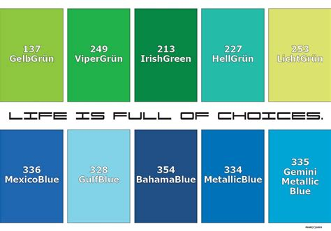 shades of blue color names shades of green and their names www pixshark com