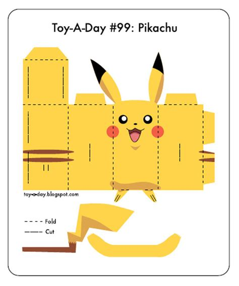 How To Make A Pikachu Origami - pikachu paper cut out images images
