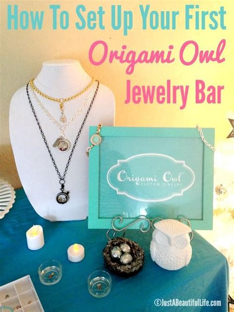 Origami Owl Jewelry Bar Setup - 17 best ideas about origami owl display on