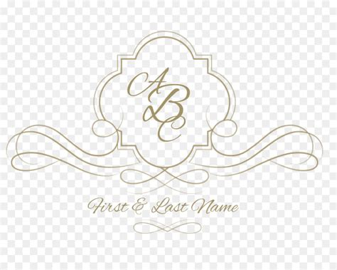 wedding invitation logo monogram template wedding logo