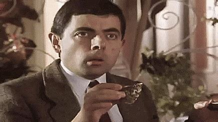 Shocked Meme - shocked mr bean gif find share on giphy