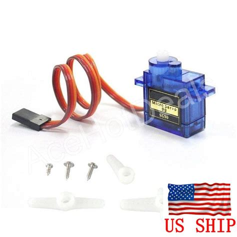 Sg90 Mini Gear Micro Servo For Rc Car Boat Helicopter Air 1wsmba Blue sg90 mini gear micro 9g servo for rc helicopter airplane