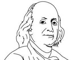 free coloring pages benjamin franklin