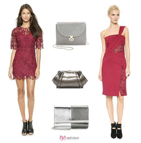 Dress Clutch dresses and matching clutches by style advisor