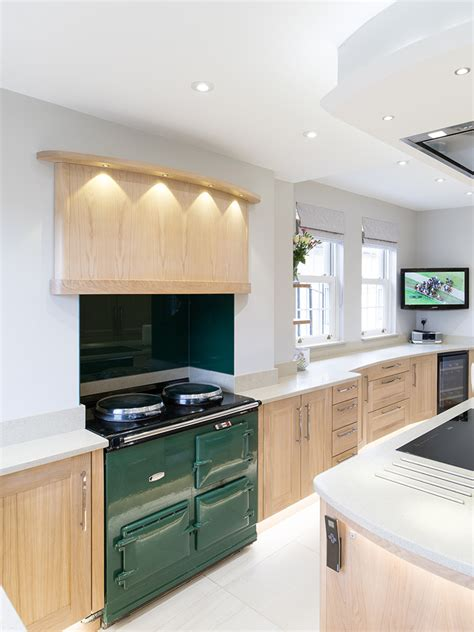 Aga Kitchen Design Modern Kitchen With Aga Potts