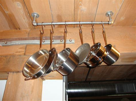 Pipe Pot Rack by Pot Rack The Undomestic Goddess