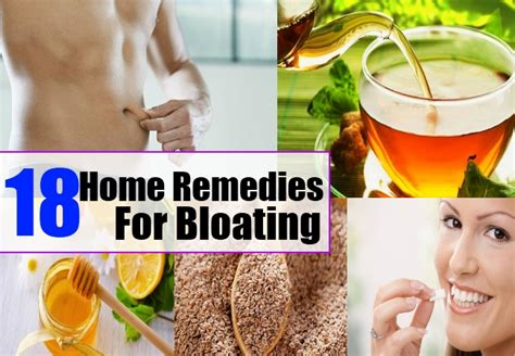 home remedies for bloating treatments cure for