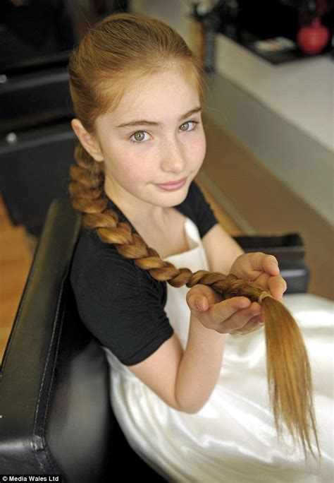 12 old girl 12 year old girl with 3ft 4inch long golden locks iwebstreet