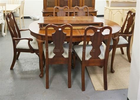 dining room table and hutch sets 8 piece cherry dining room set hutch table with 2 leaves