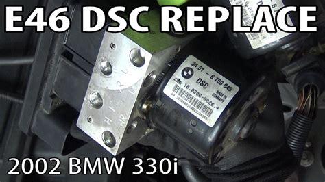 bmw  dsc dynamic stability control unit replacement