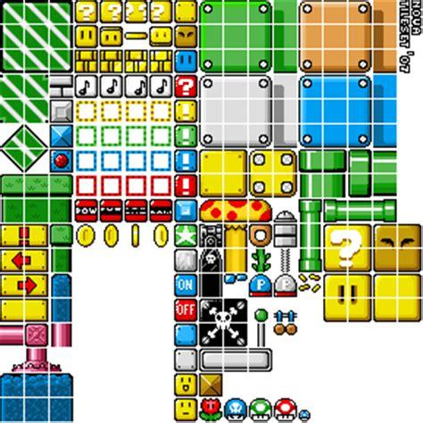 Bros Tile Mini mario tileset 07 by noveroth on deviantart