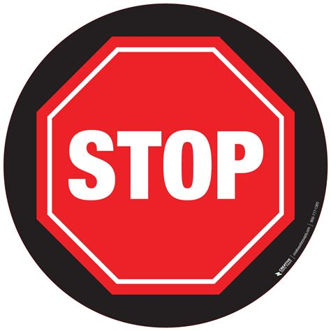 The Sign Black black stop sign clipart best
