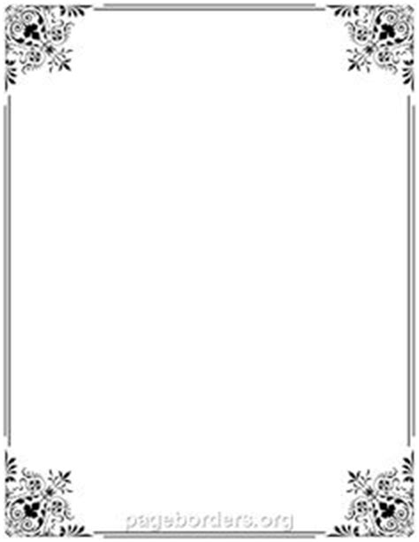 wilton ms word templates silver border place cards template simple ornamental decorative frame vector 631376 by