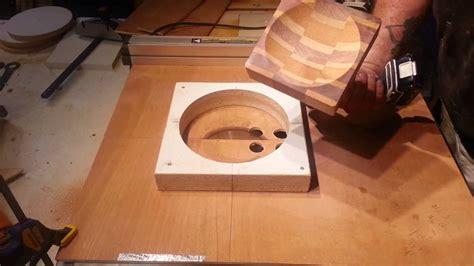 turning segmented bowl   table  part  youtube
