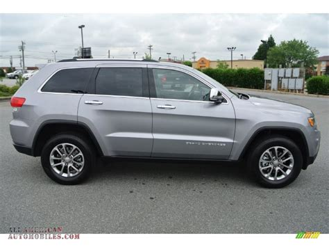 silver jeep grand cherokee 2014 jeep grand cherokee limited in billet silver metallic