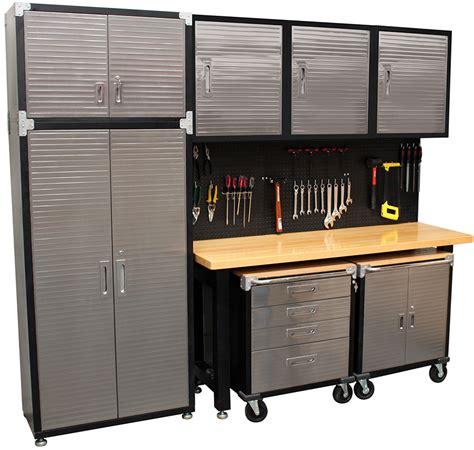 garage storage cabinet systems in 9 standard garage storage system timber workbench just pro tools buy garage storage systems