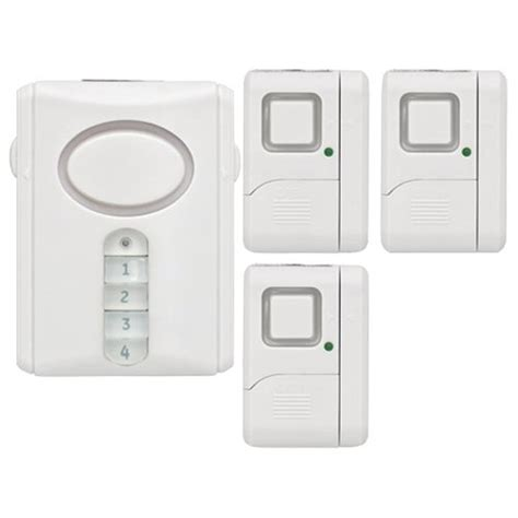 ge 51107 smart home wireless alarm system kit electme
