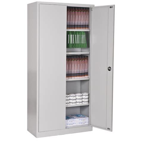 armoire m 233 tallique meuble rangement bureau negostock