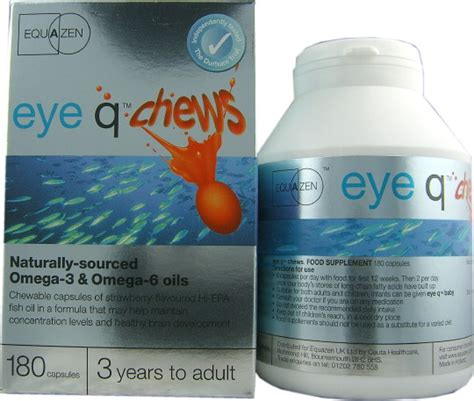 eye q supplement equazen eye q chews 180 capsules health delivery
