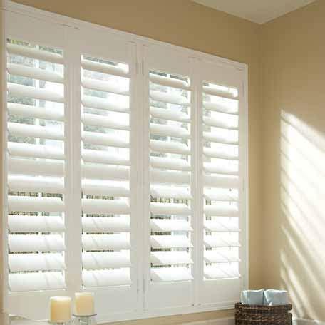 shutter curtain 4 1 2 quot louver eco wood shutters