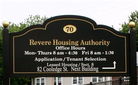 Revere Housing Authority Section 8 shores apartments 50 lynnway ma 01902