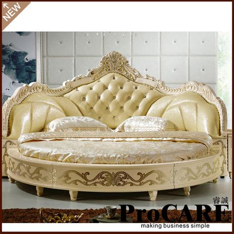 round king size bed modern european elegant noble style king size round bed