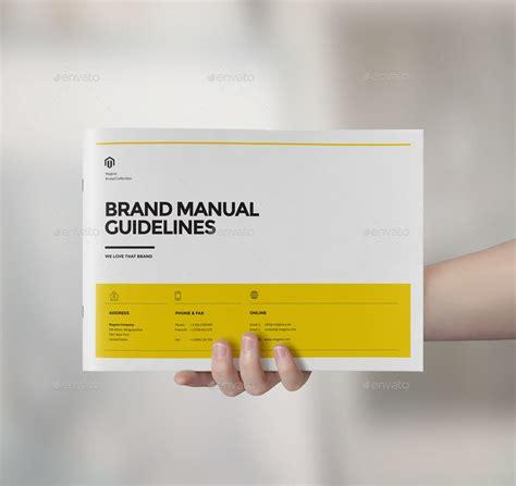 brand manual landscape  cifaromi graphicriver