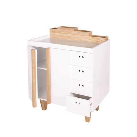 commode avec table a langer commode table langer