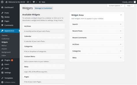 wordpress tutorial codex image gallery wordpress appearance