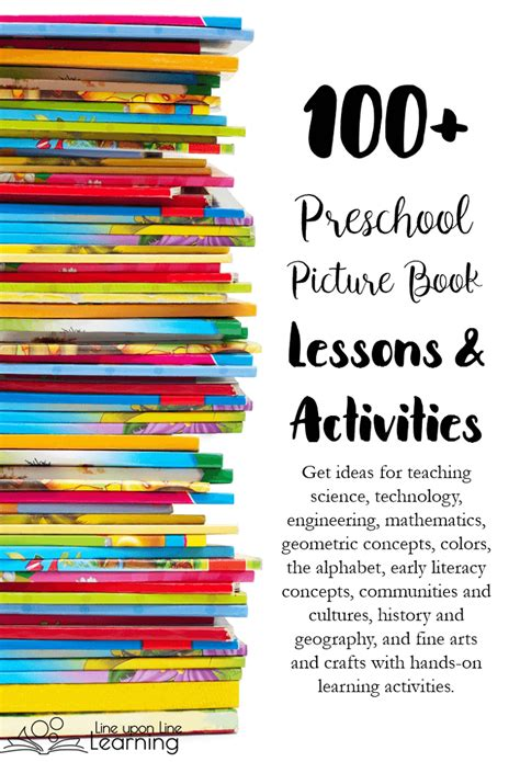 a hundred small lessons a novel books 100 preschool picture book lessons and activities