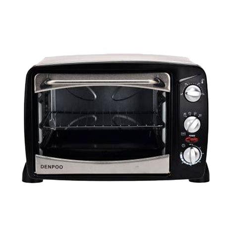 Microwave Denpoo jual denpoo deo 18 t metal hitam oven listrik 18 liter