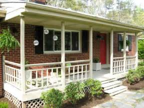 Back Porch Designs For Houses by Brick Back Porch Deck Ideas Home Decorating Ideas