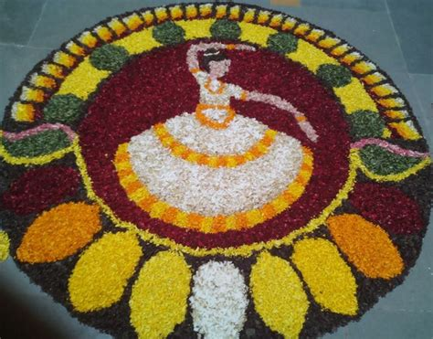 rangoli themes list pookalam designs flower rangoli designs for diwali onam